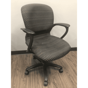 Haworth Improv Chair - Checker Pattern