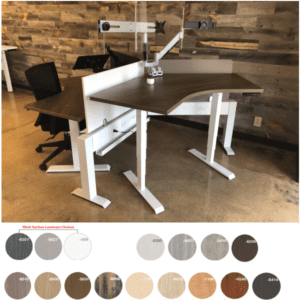 MID HAT 120° Height Adjustable Table Desk