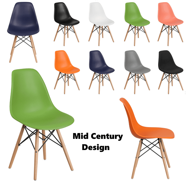 Mid Century Colofful Chairs