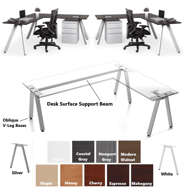 Surface Support L-Shape