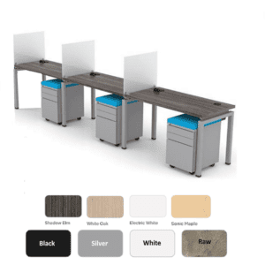 3 Pod Workstations