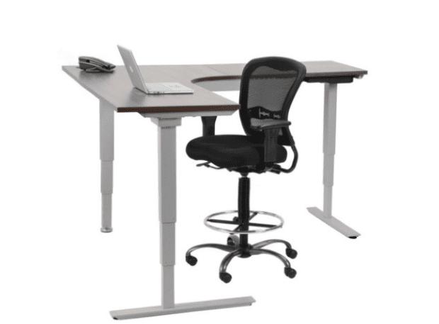 Computer Corner Standing Desk