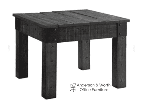 Occasional Rustic Wheel Trifecta Table Group