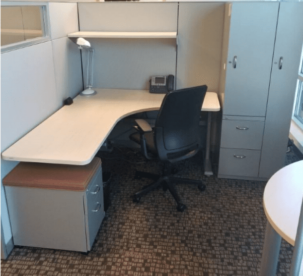 Steelcase Answer Height Adjustable Cubicle