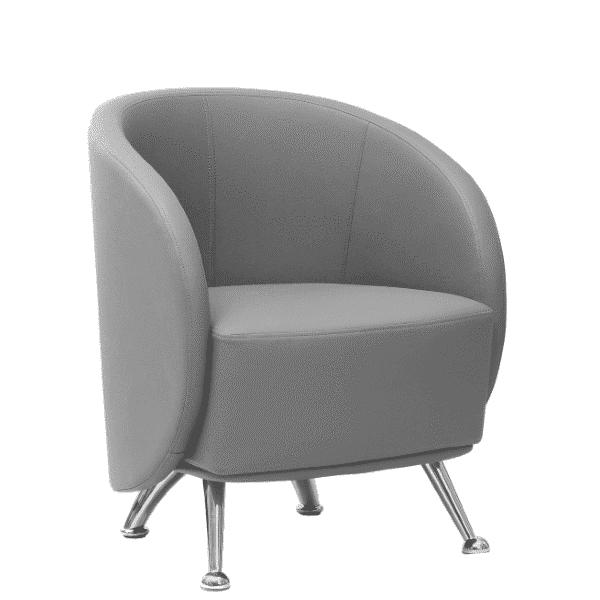 Retro Barrel Club Chair