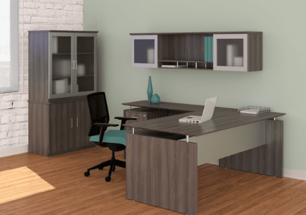 Medina™ Modern L-Shape Desk Suite