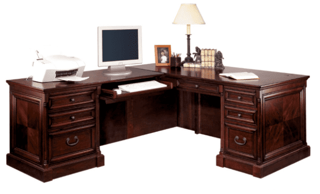 Harding L-Shaped Desk | Right Return