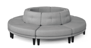 KOZE 6-piece Outward Circle Seating