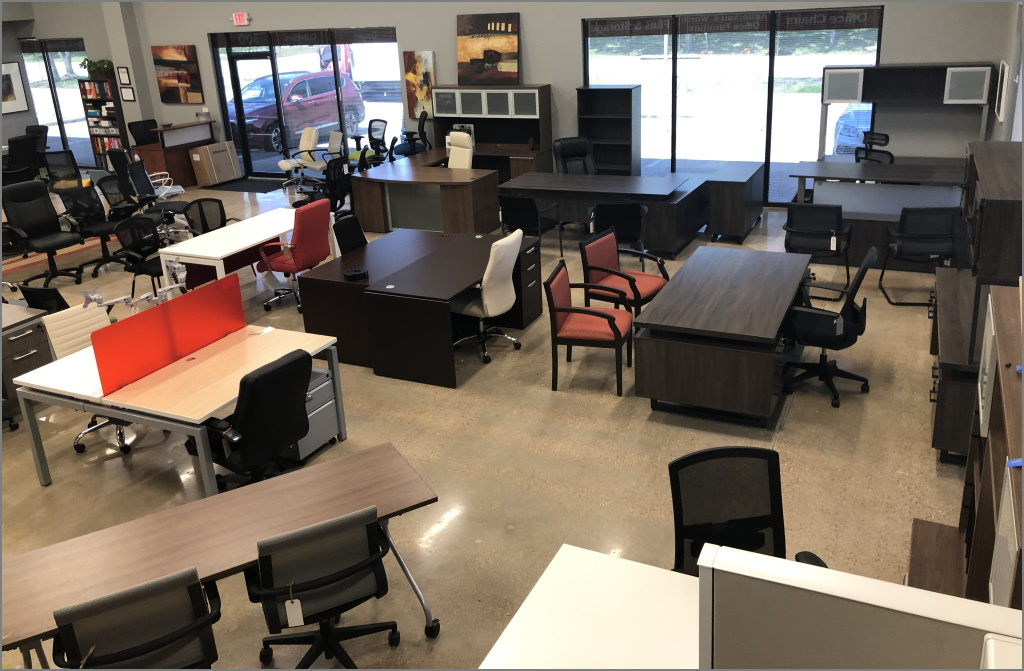 AW Office Furniture Showroom - March 2020 Update