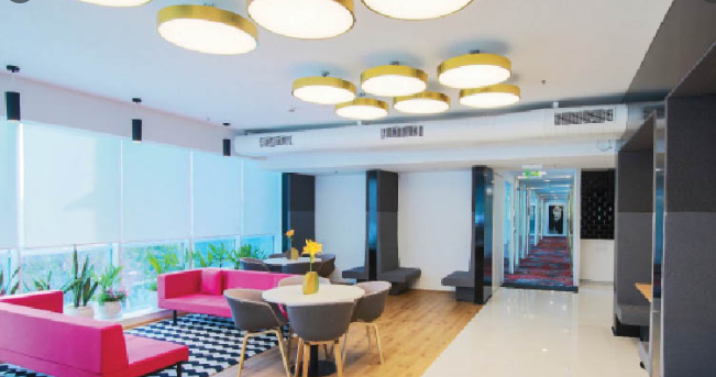 Expressive office furniture Designs