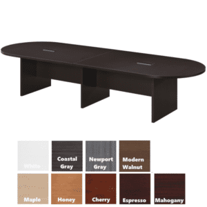 12' oval table