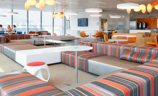 Uniquely designed office furniture