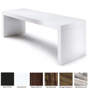 White Formica
