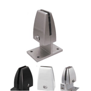 Dual Mounting Brackets for Desk Privacy Screen