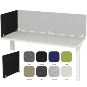 Wing Panel PET Acoustical Screen Panel