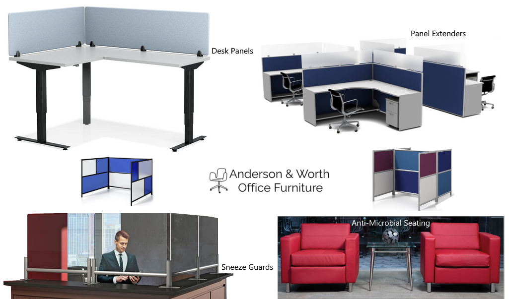 Social Distancing Office Furniture Products for Offices