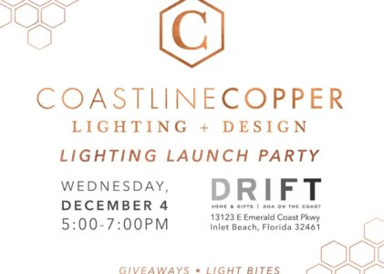 Coastline Copper Lighting & Design Launch Party