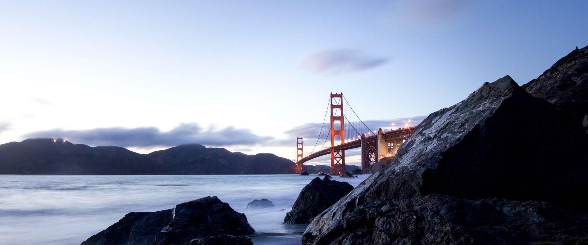 From the Golden Gate Bridge ...