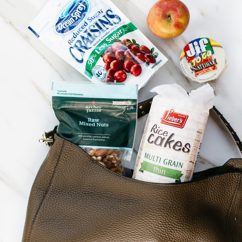 Healthy Snacks In My Bag