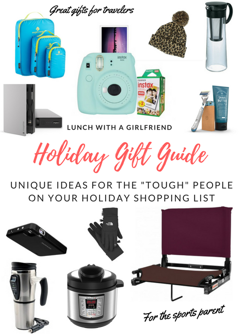 "Holiday Gift Guide For The ""Tough"" People On Your List"