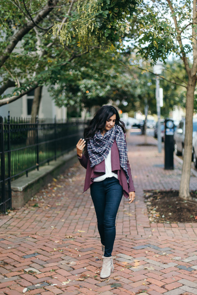 Blanket Scarves | Lunch With A Girlfriend