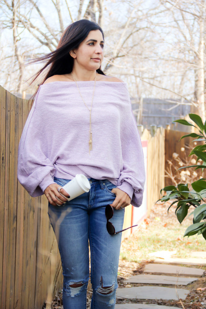 Lilac: The Spring It Color + My Must Have Sweater