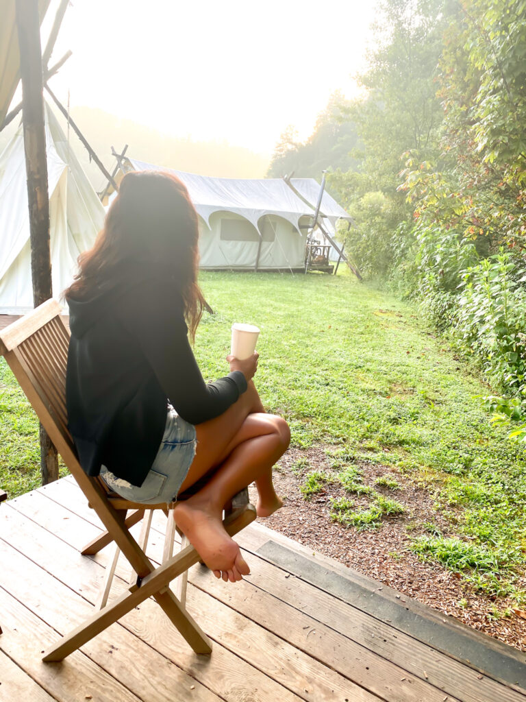 Glamping in Smokey Mountain National Park