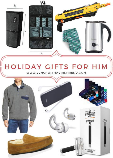 Holiday Gift Ideas For Men