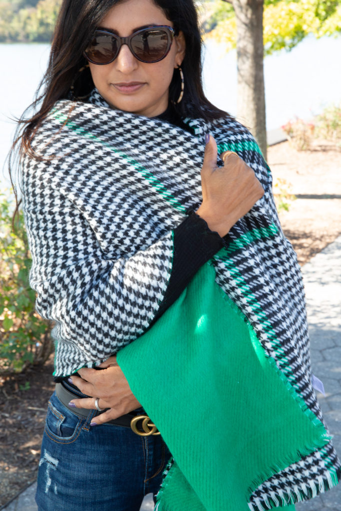 Two Ways To Tie A Blanket Scarf