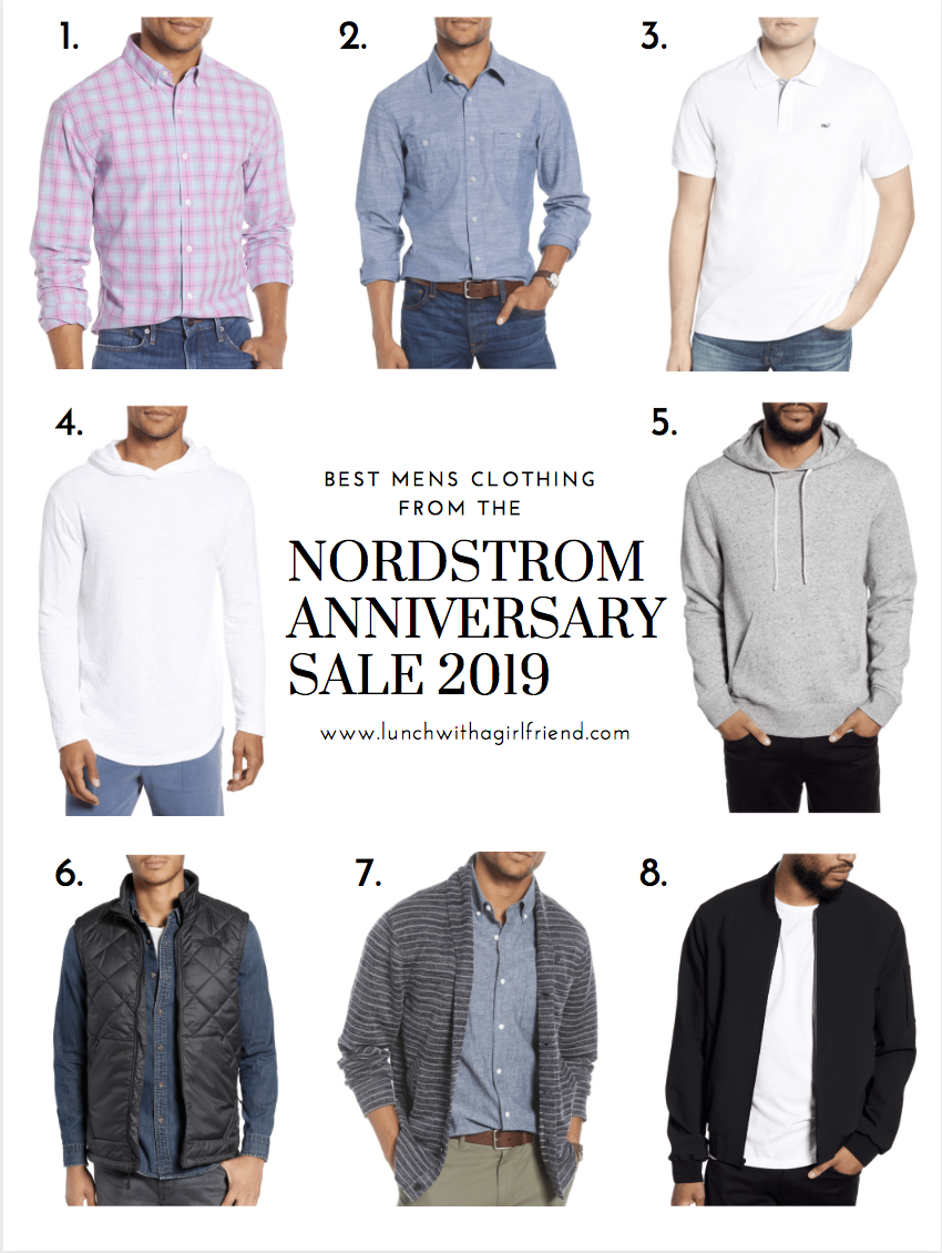 The Best of Men's Clothing At The Nordstrom Anniversary Sale