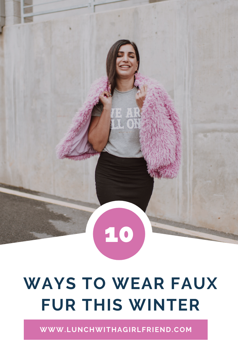 10 Cute Outfits With Faux Fur