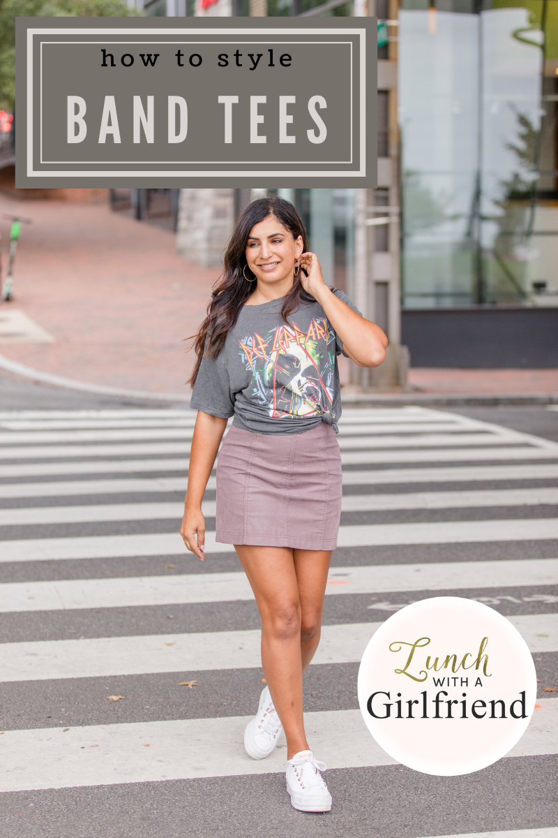 3 Ways To Style Band Tees