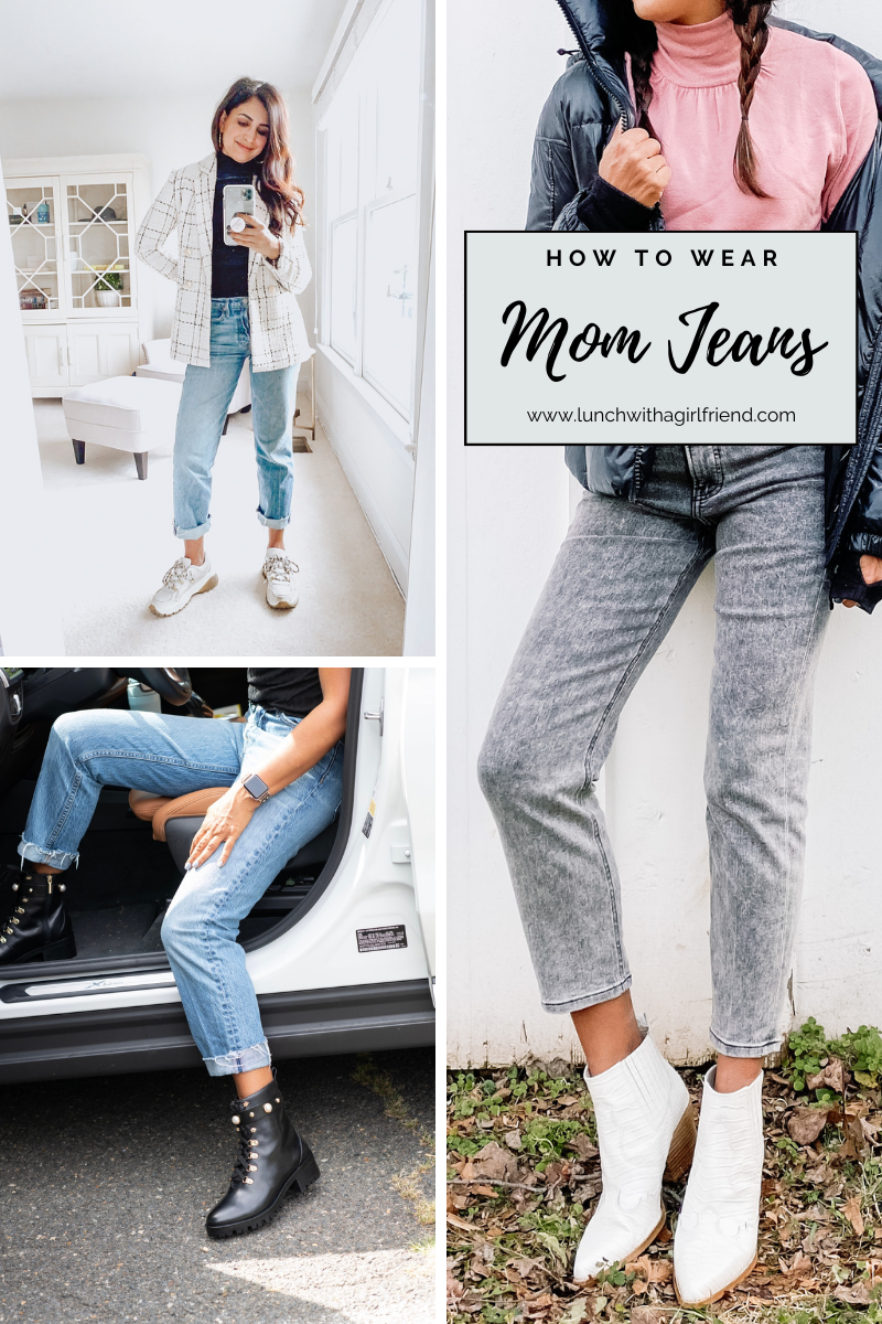 4 Ways To Style Mom Jeans