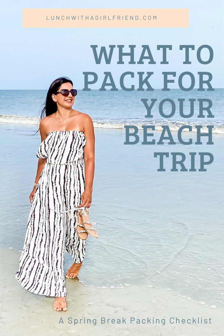 What To Pack For Your Spring Break Beach Vacation
