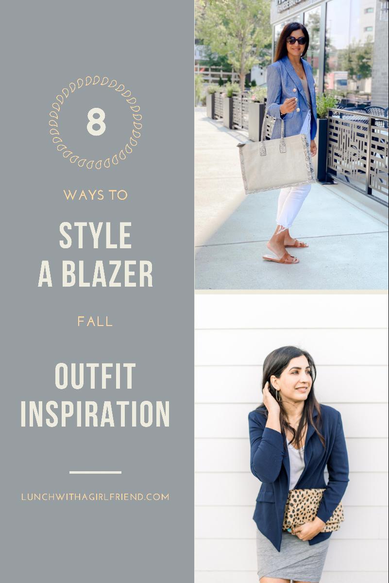 8 Ways To Style A Blazer