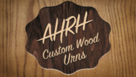 At His Right Hand – Custom Harwood Urns