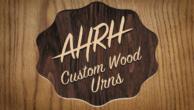 At His Right Hand – Custom Harwood Urns