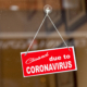Closed due to coronavirus