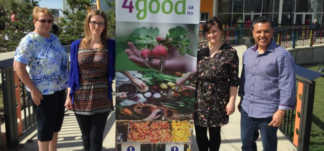 """New name, same mission: Food4Good brings food security to residents of the west end"" – Vue Weekly"