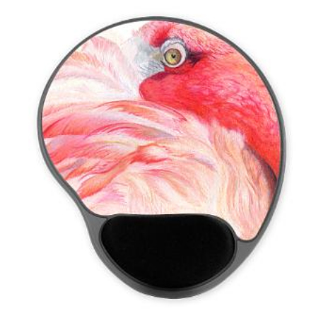 Flamingo Gel Mousepad