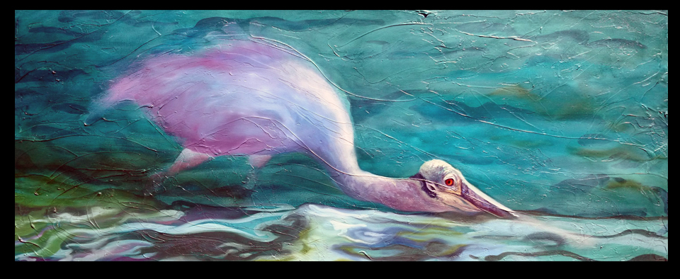 Spoonbill Progress for Face and Water