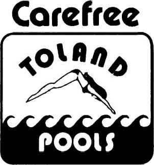 Carefree Toland Pools logo