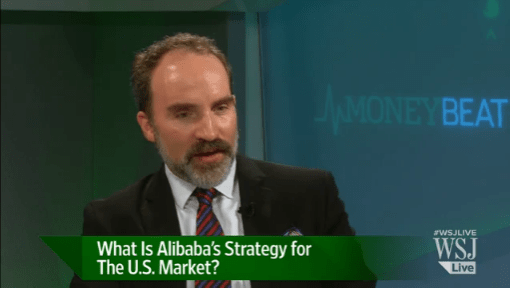 David Rogers- Alibaba IPO - WSJ Interview