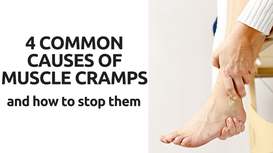 4 COMMON CAUSES OF MUSCLE CRAMPS