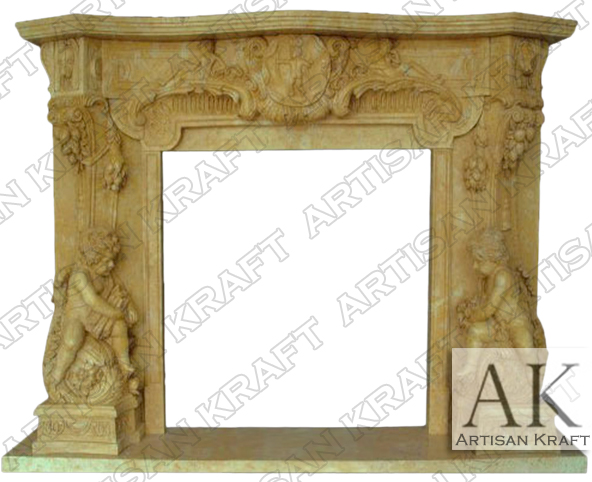 Antique-Victorian-Mantel-Fireplace-Marble