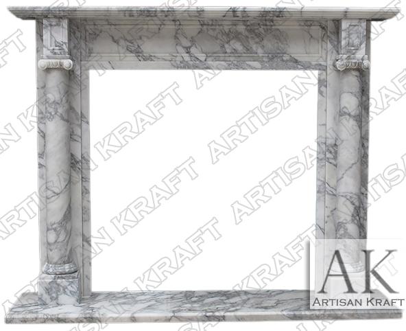 Barrington-Italian-Arabesco-Marble-Mantel