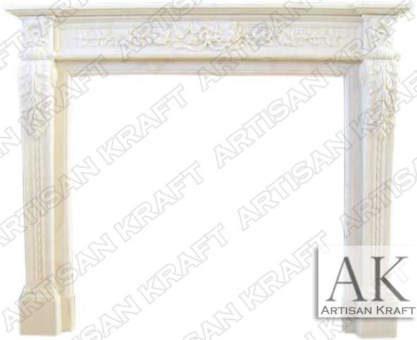 Capri-Marble-Mantel-White-Italian-Fireplaces