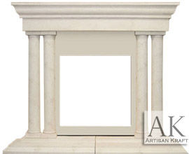 Cast Stone Fireplace Grand Tuscan Sale
