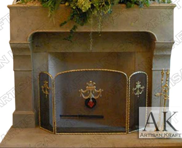 Chantel-Cast-Stone-Mantel-French-Fireplace