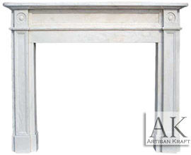 Marble Fireplace Surround Ideas Mantels French Italian